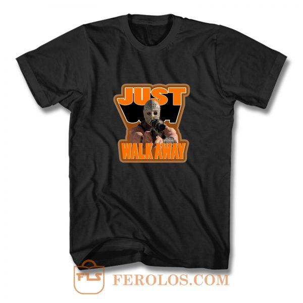 80s Cult Classic Mad Max 2 The Road Warrior The Humungus Walk Away T Shirt