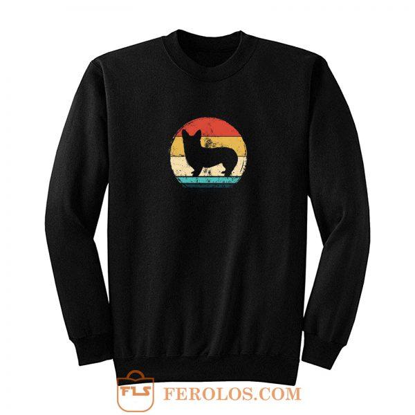 80s Retro Corgi Sweatshirt