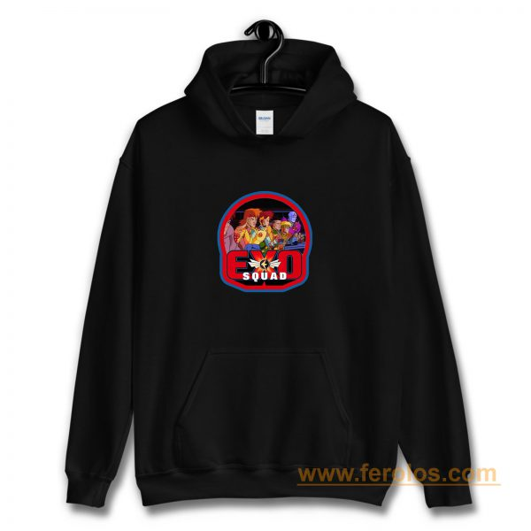 90s Cartoon Classic Exosquad Hoodie