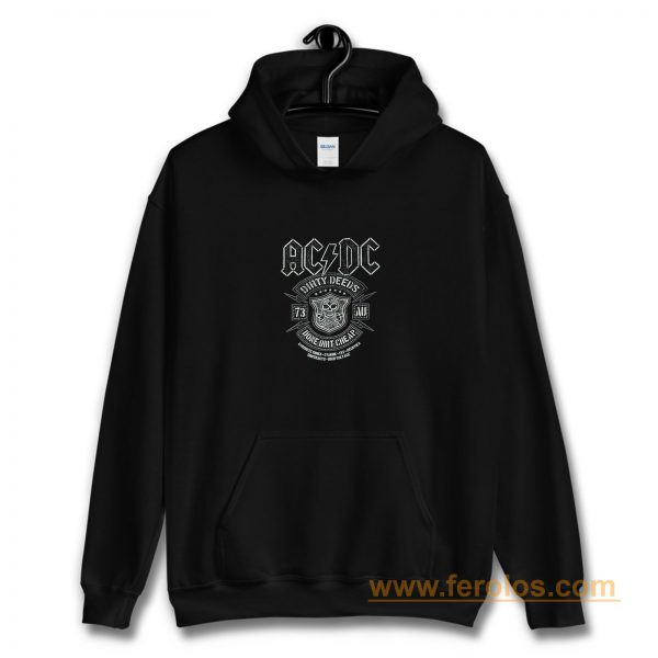 Acdc Dirty Deeds Hoodie