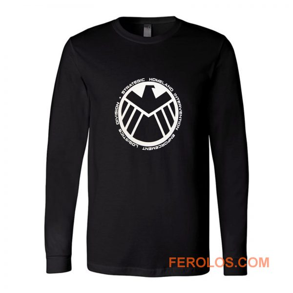 Agents Of Shield Long Sleeve
