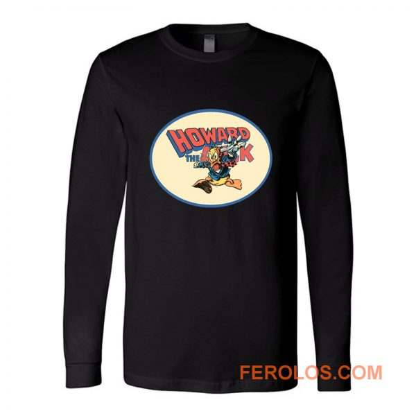 All Time Classic Marvel Character Howard The Duck Long Sleeve