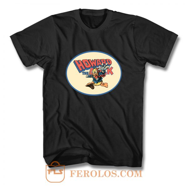 All Time Classic Marvel Character Howard The Duck T Shirt