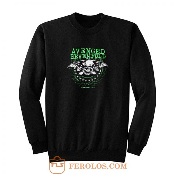 Avenged Sevenfold Punk Rock Band Sweatshirt
