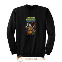 Avengers Infinity War Gauntlet Hulk Spider Man Iron Man Sweatshirt