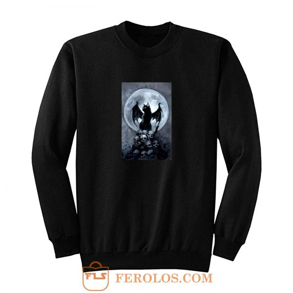 Bat Cat Sweatshirt