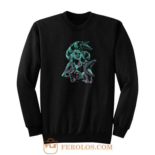Beetlejuice Sand Worms Sweatshirt