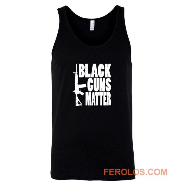 Black Guns Matter Tank Top
