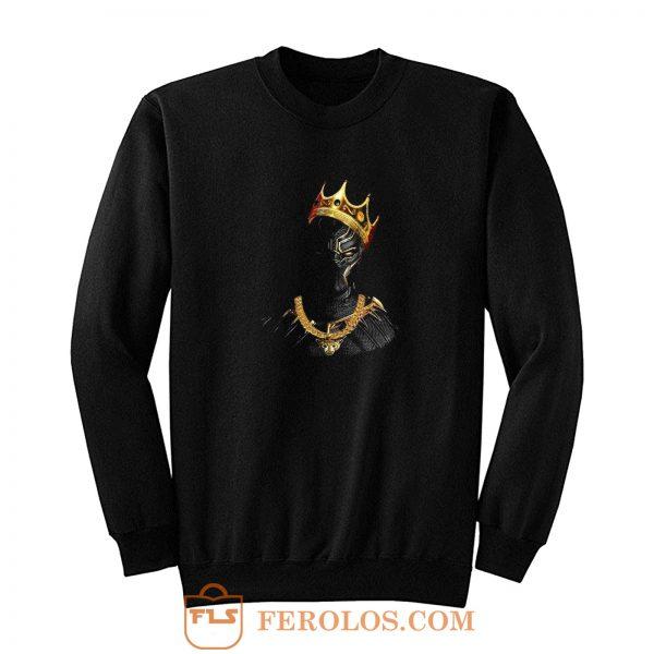 Black Panther Notorious Big King Mashup Sweatshirt