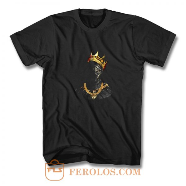 Black Panther Notorious Big King Mashup T Shirt