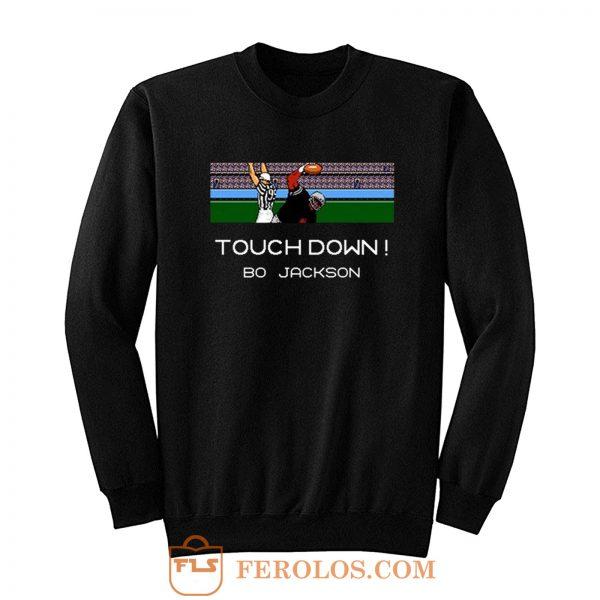 Bo Jackson Tecmo Bowl Oakland Raiders Sweatshirt