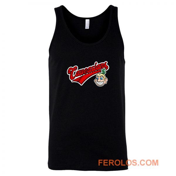 Caucasians Baseball Tank Top