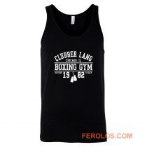 Clubber Lang Boxing Gym Retro Rocky 80s Workout Gym Tank Top