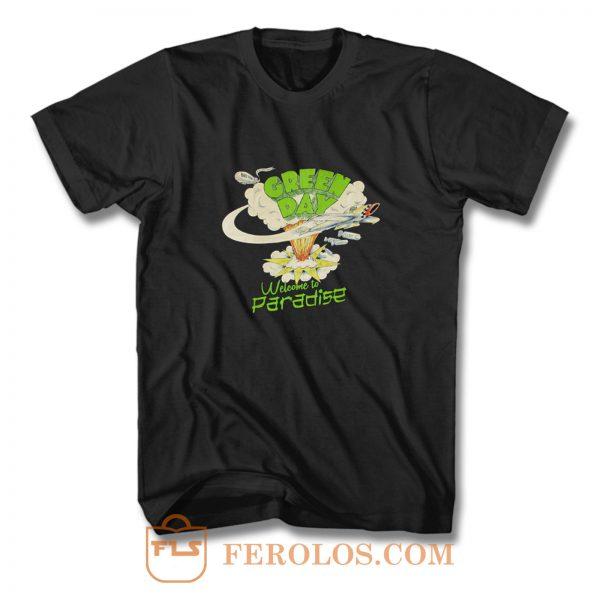 Green Day Paradise T Shirt