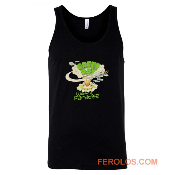Green Day Paradise Tank Top