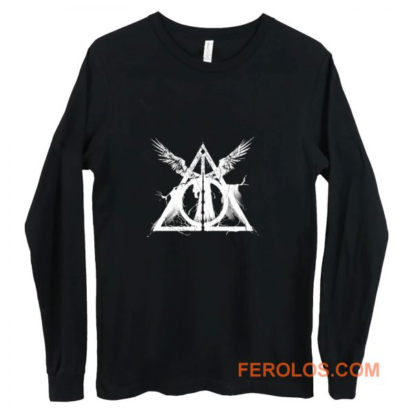 Harry Potter Deathly Hallows Three Brothers Long Sleeve