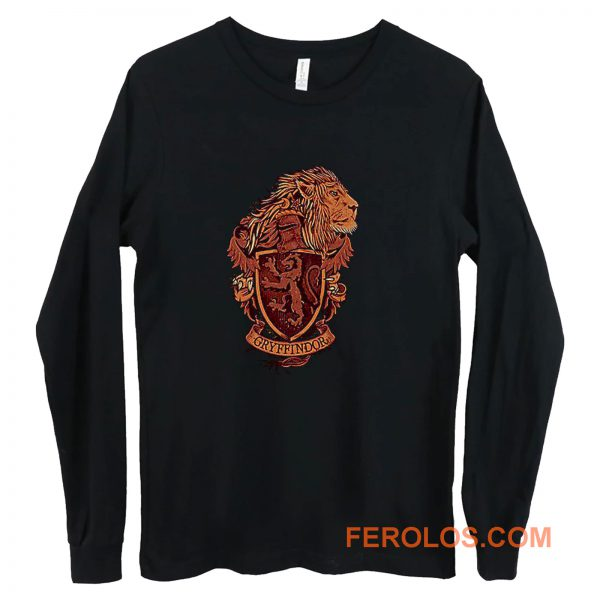 Harry Potter Gryffindor Lion Long Sleeve