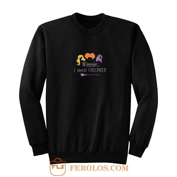 I Smell Children Womens Halloween Sweatshirt