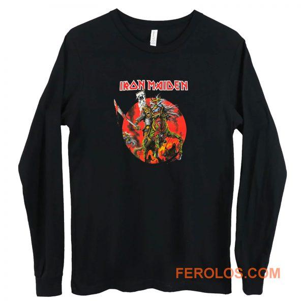Iron Maiden Samurai Long Sleeve