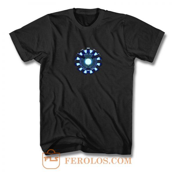 Iron Man Arc Reactor Stark Industries Superhero T Shirt