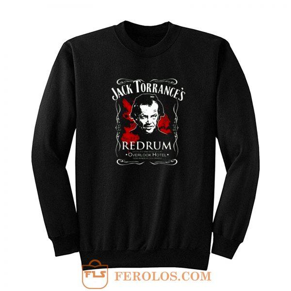 Jack Torrances Redrum Stephen King Kubrick Horror Sweatshirt
