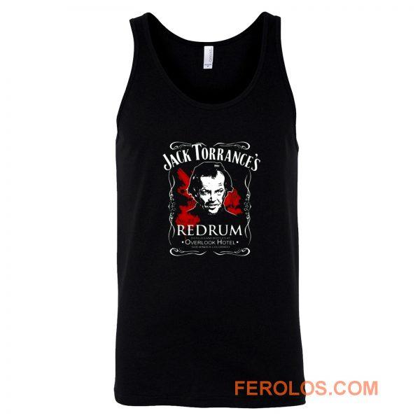 Jack Torrances Redrum Stephen King Kubrick Horror Tank Top