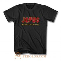 Jesus Highway To Heaven T Shirt