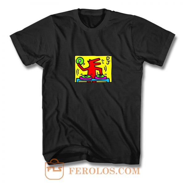 Keith Haring DJ T Shirt