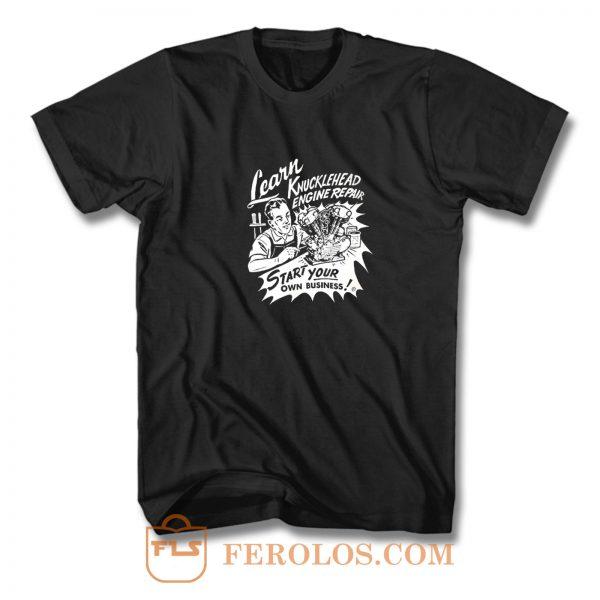 Knucklehead Repair T Shirt