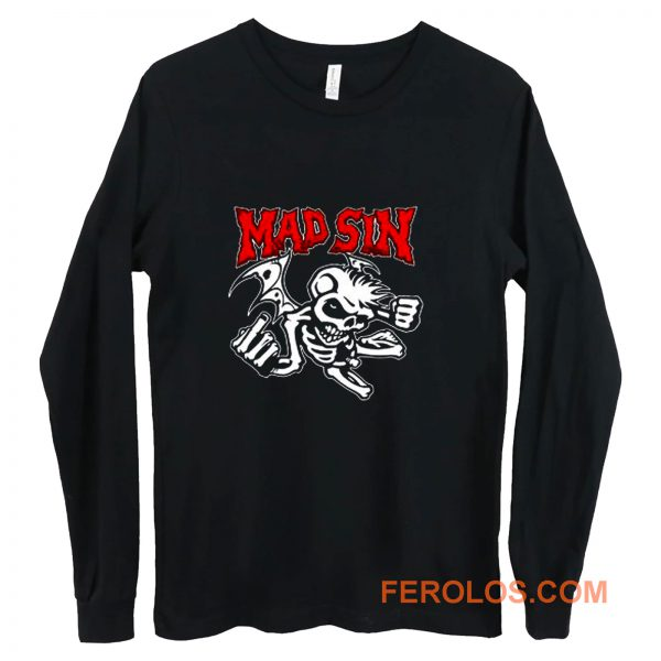 Mad Sin Psychobilly Punk Rock Band Long Sleeve