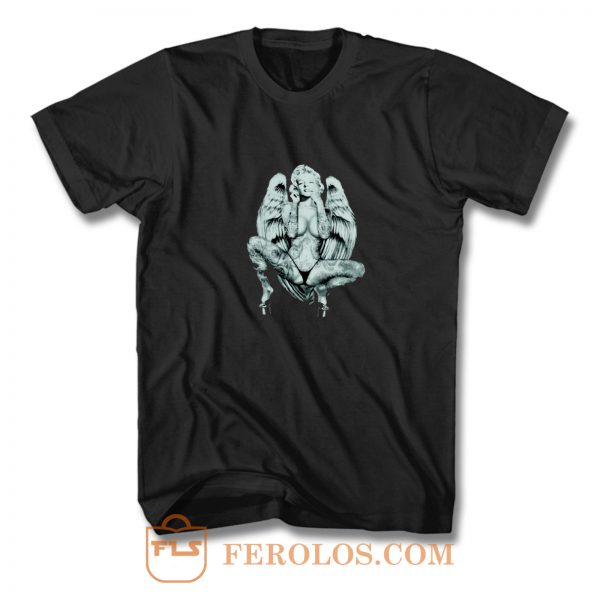 Marilyn Monroe Angel Wings T Shirt