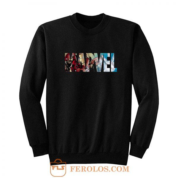 Marvel Logo Ironman Sweatshirt