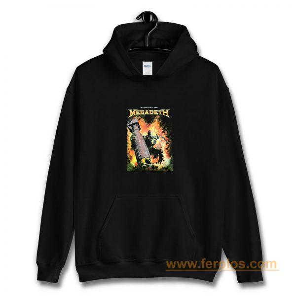Megadeth Heavy Metal Rock Band Hoodie