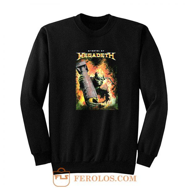 Megadeth Heavy Metal Rock Band Sweatshirt