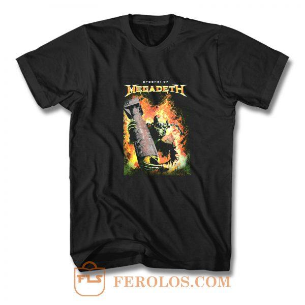 Megadeth Heavy Metal Rock Band T Shirt