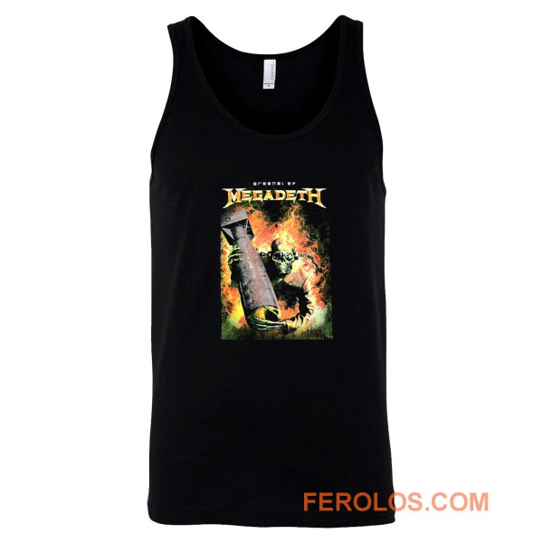 Megadeth Heavy Metal Rock Band Tank Top