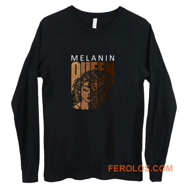 Melanin Queen Long Sleeve