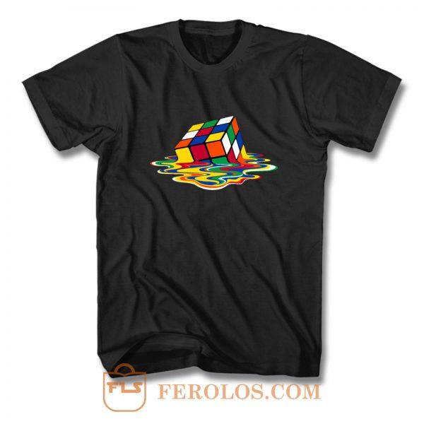 Melting Cube T Shirt
