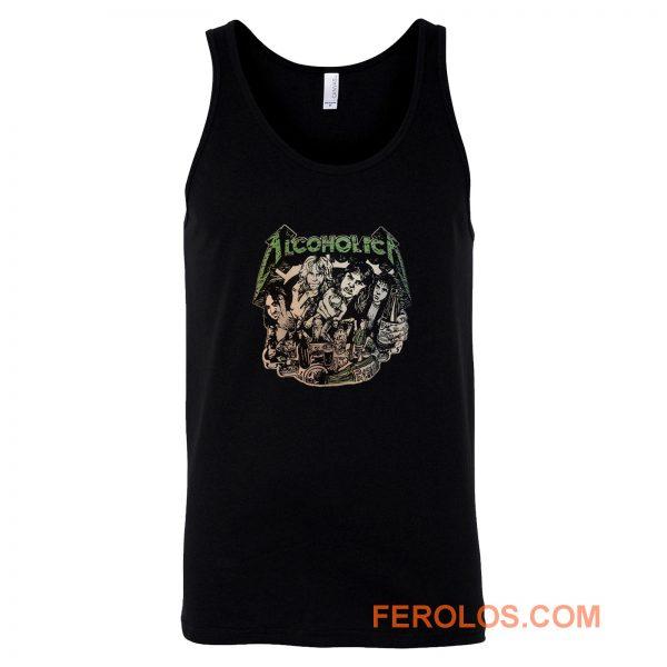 Metallica Alcoholica Tank Top