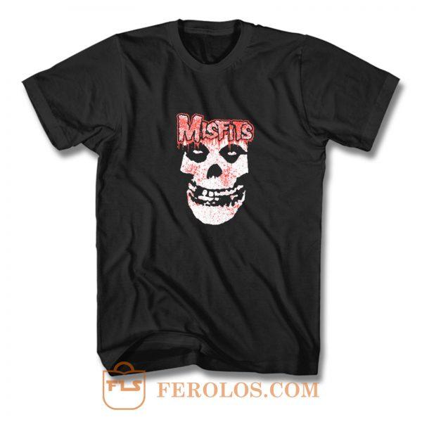 Misfits Punk Band T Shirt