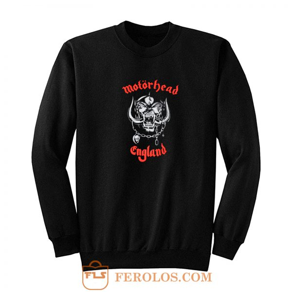 Motorhead Rock Band Sweatshirt