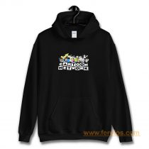 New Cartoon Network 90s Character Squad Mens Vintage Retro Hoodie