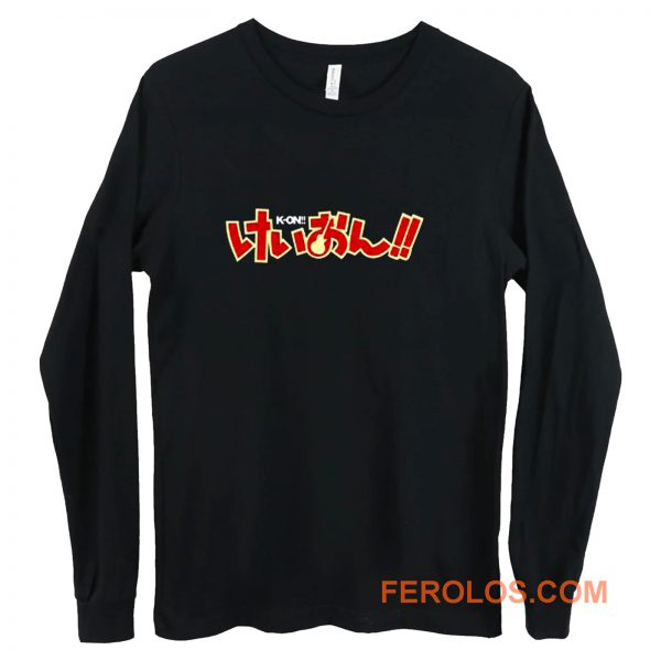New K ON Musical Anime Manga Long Sleeve