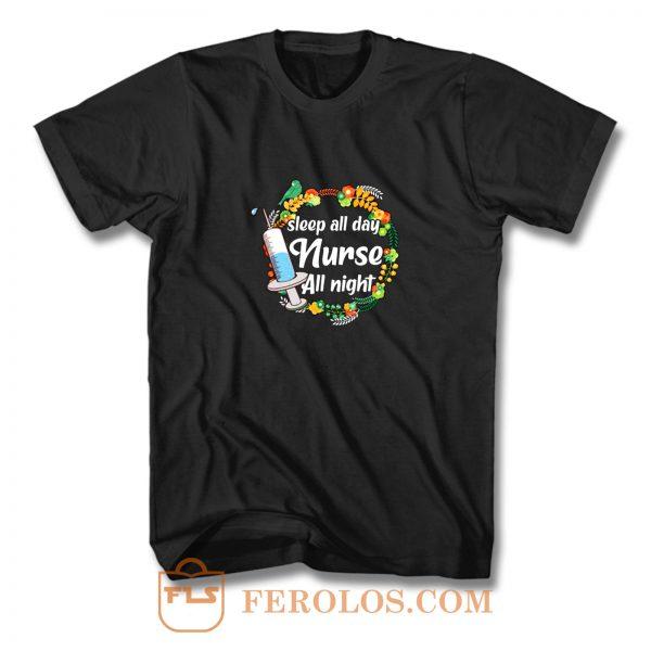 Night Shift Nurse T Shirt