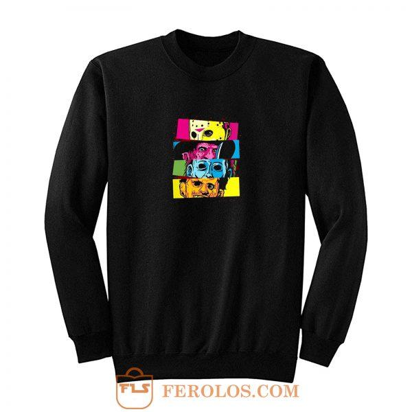 Nightmare Halloween Horror Legends Movie Sweatshirt