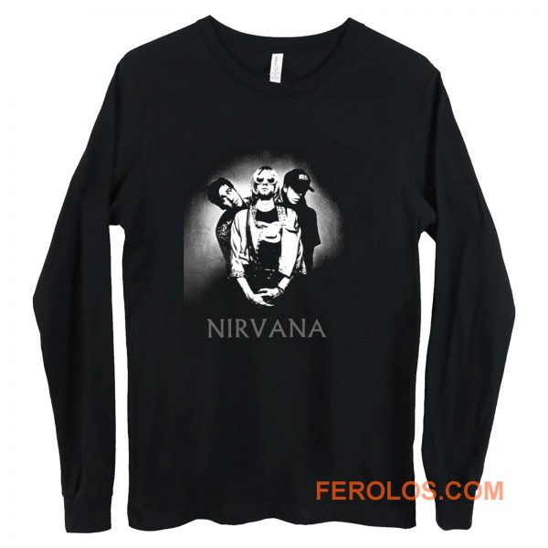 Nirvana Band Long Sleeve