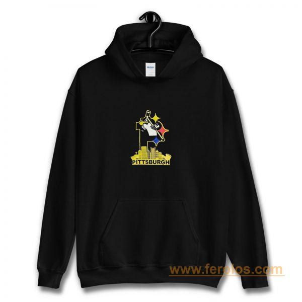 Pittsburgh Steelers Pirates Penguins 3 Favorite Team Hoodie