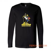 Pittsburgh Steelers Pirates Penguins 3 Favorite Team Long Sleeve
