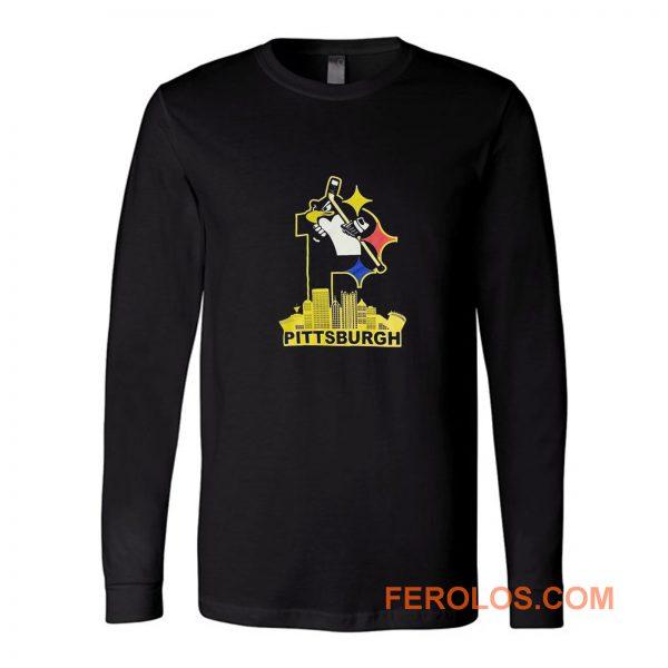 Pittsburgh Steelers Pirates Penguins 3 Favorite Team Long Sleeve