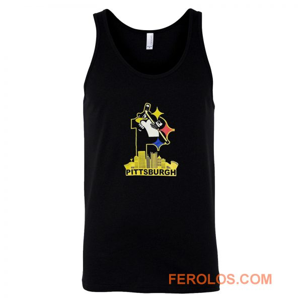 Pittsburgh Steelers Pirates Penguins 3 Favorite Team Tank Top